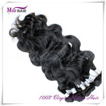 cheap remy wholesale genuine raw brazilian hair extension
