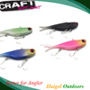 2015 New arrival ! strong material crank bait lure, jigging fishing lure,soft lure with two treble hook