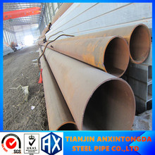 erw api 5l x60 carbon welded steel pipe hot rolled 45# carbon steel oil well tube