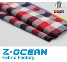Yarn dyed fabric cotton twill stock