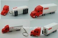 promotional truck shaped usb flash drive