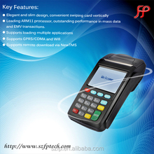 Prepaid Airtime Payment via GPRS POS Terminal & Mobile Money POS Printer