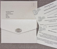 Royal Pebbles Embossed Paper For DIY Wedding Invitations