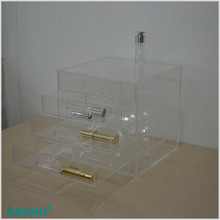 Guangzhou Cuatomized anhui fashion cheap acrylic makeup organizer with drawers