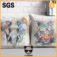 New Design Creative Fashion Colored Animal Design Cushion Home Decor Cushion Pillow Case,Wholesale Decorative Cushion Covers