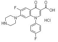 CP2010 High effect veterinary medicine Sarafloxacin HCL