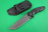 OEM outdoor fixed blade G10 handle hunting survival knife