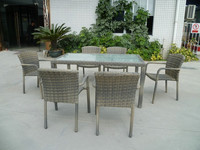 Outdoor Dinning set / Patio Table & chair, rattan outdoor furniture dinning set