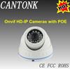 1mp POE IR Dome Indoor Webcam Camera IP