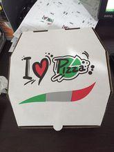 Round Paper pizza take away box