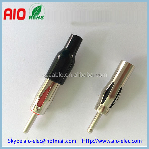 Car radio antenna plug motorola type