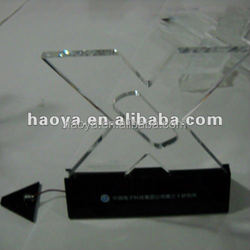Clear Custom Acrylic Display Stand LED PMMA Display Base Lucite Display Base