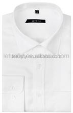 High end plain men's office shirt plain blank