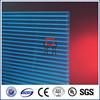 Zhejiang Makrolon double wall pc hollow sheet/twin wall polycarbonate sunlight sheet