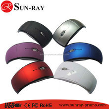 optical wirless mouse foldable usb mouse wholesale