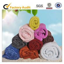 China factory new design Soft 100% Polyester knitted blanket , printing blanket,fleece blanket in bulk