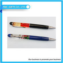 3D liquid floating pen for promotion
