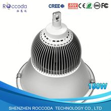 Custom Finned Aluminium Extrusion Heat sink LED high bay 24/7 working time