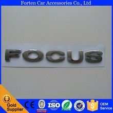 Car ABS Chrome Custom Sticker Badge Emblem For Ford