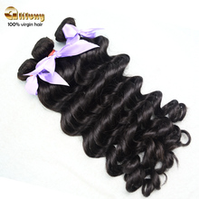 2015 fashionable hair extension 100% unprocessed free shipping eurasian loose wave hair