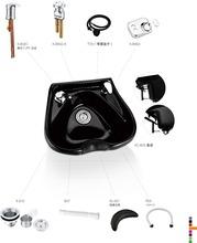 Beauty Salon wall-hung shampoo chair backwash unit XC-B20 Set