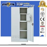 storage armoire price/metal fireproof locker/2 door steel wardrobe