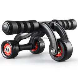 Three Core Wheel Exercise Roller Machine Exercise 3 Wheel
