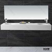 Restaurant washroom mirror wall-mounted mirror long rectangle mirror