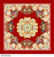 Bottom price Crazy Selling new embroidered carpet 2012