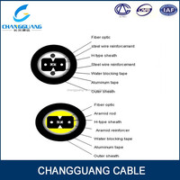 Good crush resistance and flexibility GJXFHA indoor optic fiber cable price
