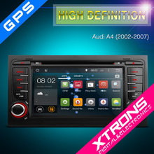"""PF72AA4A - 7"""" Android 4.4.4 OS Multi-touch Screen Car DVD Player With Wireless Screen Mirroring Function & OBD2 For Audi A4"""