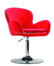 Red Color Hair Salon Portable Hair Styling Chair For Sale 2014