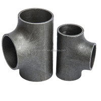 """.ASTM A234 ,WPB 26"""" butt welded pipe fitting tee / carbon straight tee"""