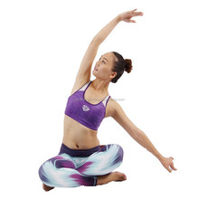73% Polyester 27% Spandex Dry Fit Yoga Tights Custom Wholesale Athletic Wear