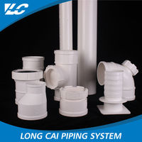 No Recycle Material Recyclable Smoothly names of pvc pipe fittings