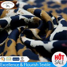 YMR-26 100% fashion rayon leopard print fabric