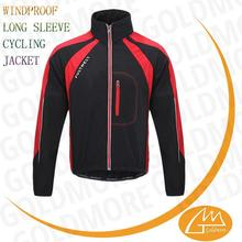 Wholesale Breathable comfortable windproof jacket cycling