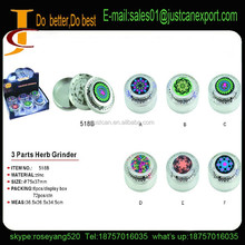 2015 Hard Top herb grinders, 3 parts, Zinc Alloy , Mixed Colors, custom available. We also offer vapor pen, metal pipes