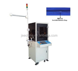 HOT NEW PRODUCTS FOR 2015 JEE AUTO INVISIBLE ZIPPER ULTRASONIC BOTTOM STOP MACHINE