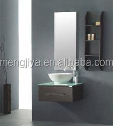 Corner wall hanging PVC bathroom cabinet