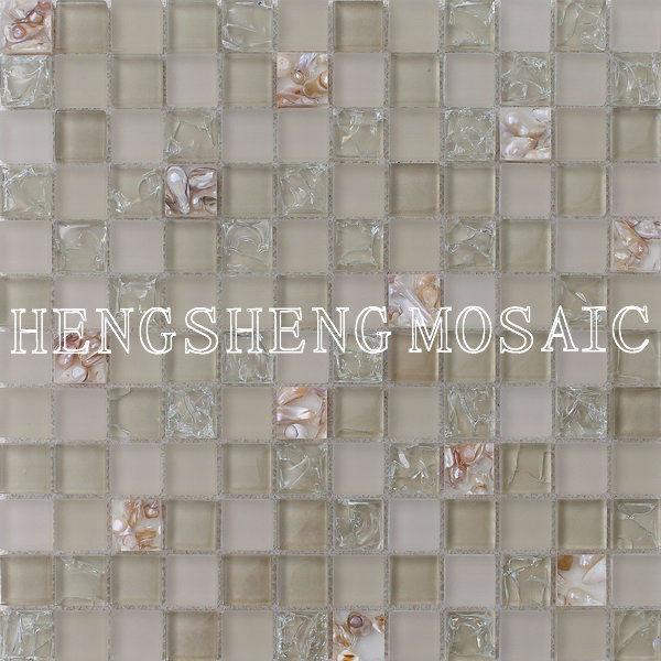 Azulejos Baño Mosaico:azulejos del baño mosaico de cristal pared de vidrio decorativo de
