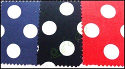 In stock Chiese Polka Dot cotton poplin