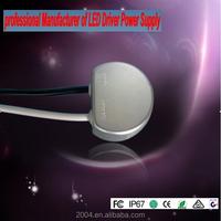 round shape driver 12V or 24V power supply 10w waterproof led transformer