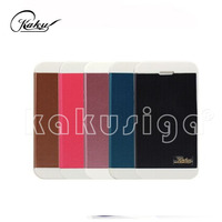 High quality book style leather case for galaxy note from phone case manufacture
