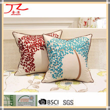 good design decorative linen embroidery cushion