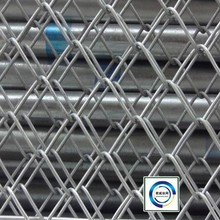 New type Full Automatic Double Wire Chain Link fence/PVC coated, electro galvanized and hot-dipped galvanized Chain link fence