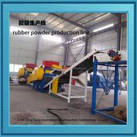 Tire Ground Rubber Pulverizing Machines