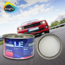 Non-Clog car body filler putty used for Vehicle repair Gallon/polyester putty for furniture
