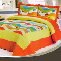 patchwork quilt in bedding set bamboo fiber cotton bedding set