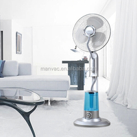 2015 factory portable 16'' Indoor Strong Air Delivery Stand Water Misting Fan